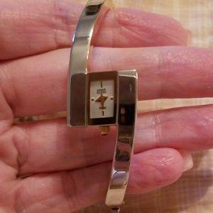 Anne Klein Two-Tone Watch